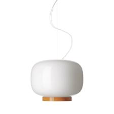 Foscarini Chouchin 1 Reverse Hanglamp Wit Oranje