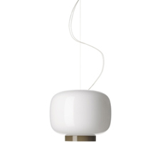 Foscarini Chouchin 3 Reverse Hanglamp Wit Grijs