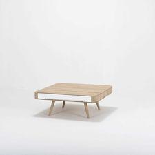 Gazzda Ena Coffee Table - Vierkante salontafel (90x90x35)