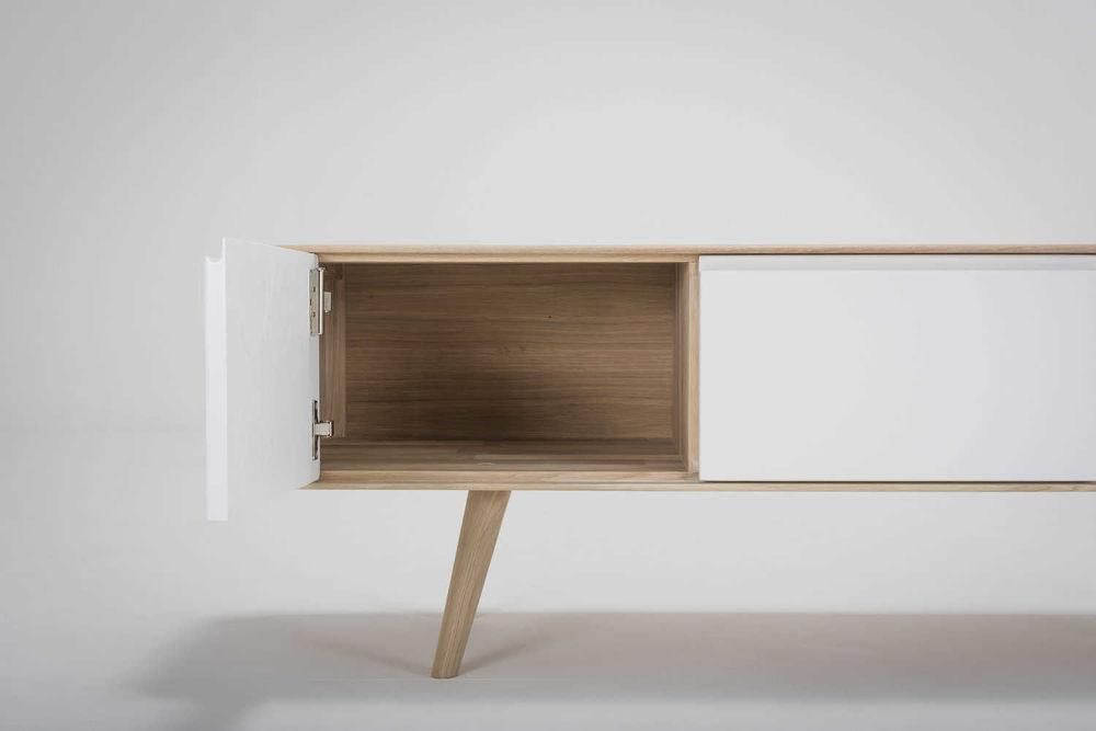 Design Meubels Houten : Gazzda ena tv sideboard one houten tv meubel interieur design