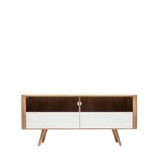 Gazzda Ena TV Sideboard Three - Houten TV meubel (135x42x60)