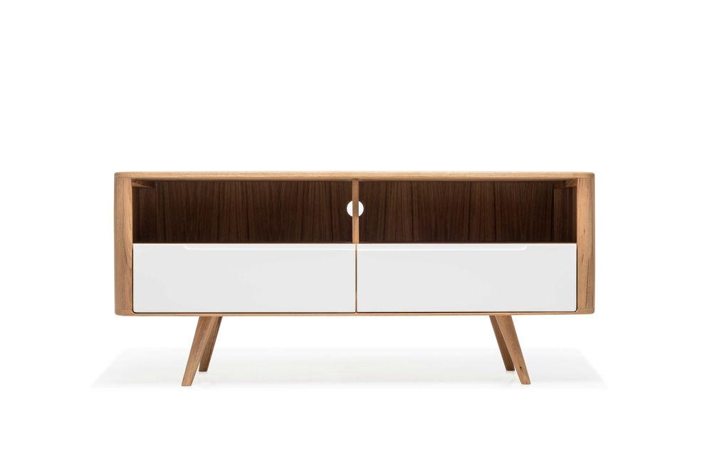 Design Meubels Houten : Gazzda ena tv sideboard three houten tv meubel