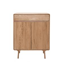 Gazzda Fawn Cabinet - Houten dressoir (90x45x110)