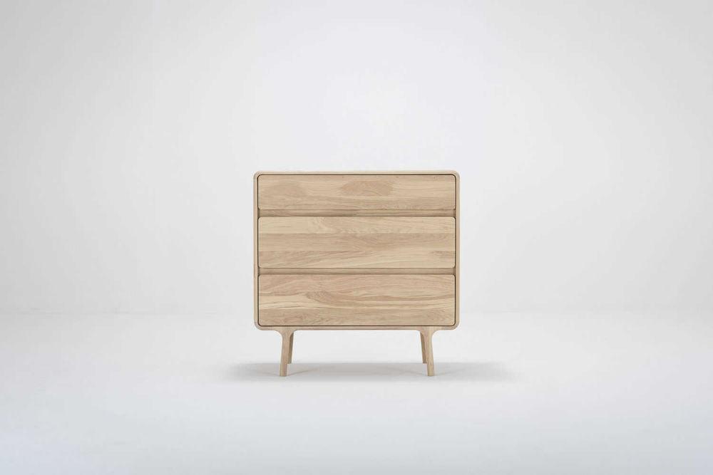 Verrassend Gazzda Fawn Drawer - Houten ladekast (90x90x45) - Interieur Design XU-61