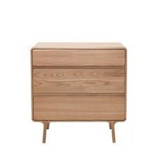 Gazzda Fawn Drawer - Houten ladekast (90x90x45)