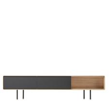 Gazzda Fina Lowboard - Houten TV meubel (200x45x48)