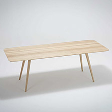 Gazzda Stafa Table - Houten eettafel